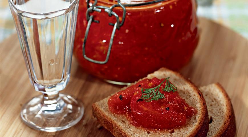 томатный джем рецепт