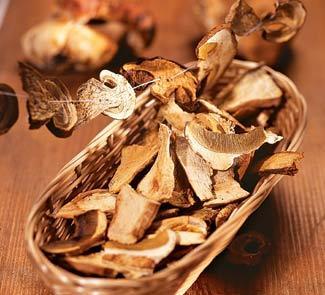 Рецепт Сушеные грибы