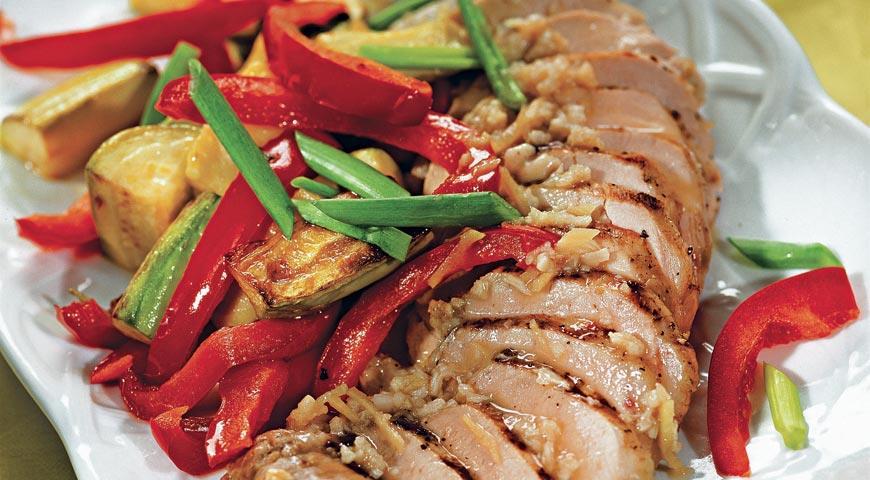 Рецепт Маринованная вырезка свинины