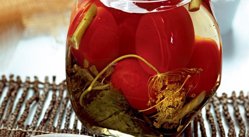 Рецепт Душистые помидоры