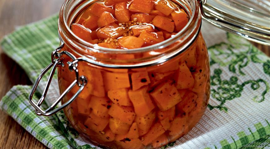 Рецепт Морковь, консервированная в масле