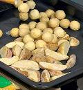 Картофельные шашлыки с курицей. Шаг 3