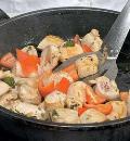 Картофельные шашлыки с курицей. Шаг 4