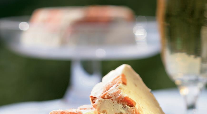 Рецепт Террин из копченого лосося и копченой скумбрии