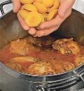 Курица с абрикосами. Шаг 4