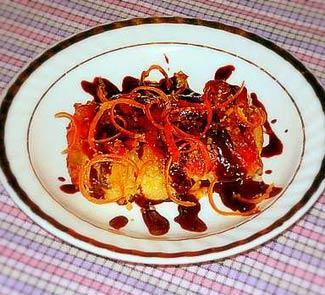 Рецепт Запеканка из бананов и моццареллы