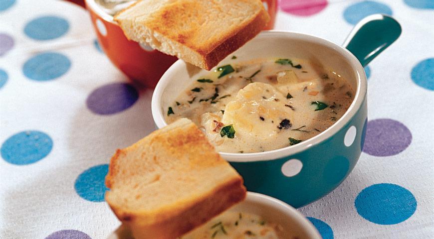 Суп с голубым сыром рецепт