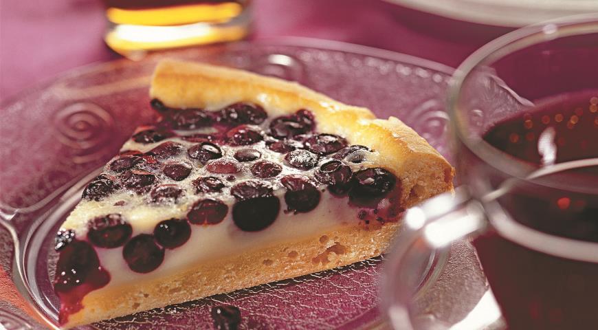 Песочный черничный пирог рецепт с 63