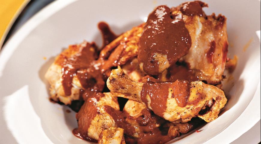 Рецепт Курица в шоколаде