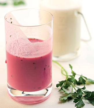 Рецепт Напиток из ацидофилина со свеклой