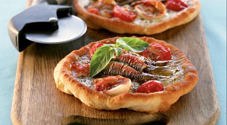 Рецепт Пицца фритта наполитана с креветками