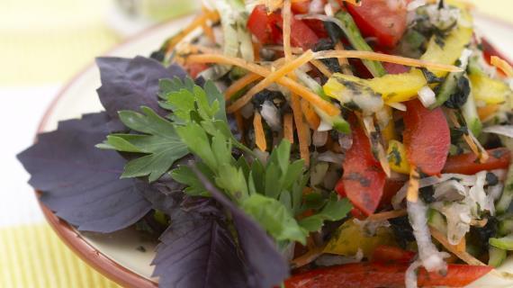 салат морской бриз рецепт с морской капустой