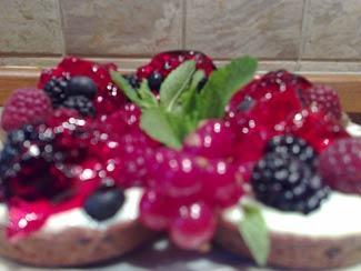 Рецепт Корзиночки со свежими ягодами