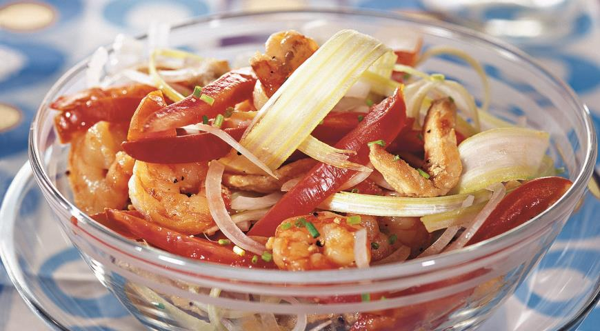Рецепт Салат с черешковым сельдереем