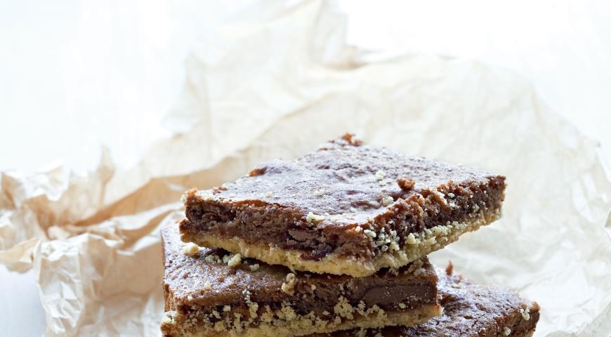 Рецепт Двойные шоколадные брауни