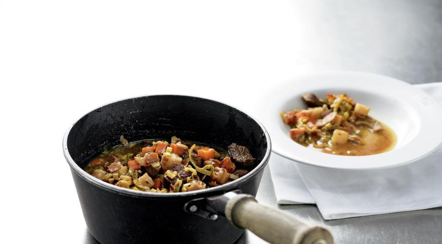 Рецепт Говядина с овощами