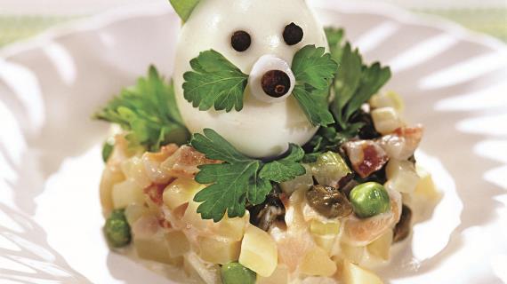 """Картофельный салат """"зайчик"""""""