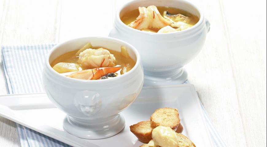 Рецепт Буйабес, рыбный суп