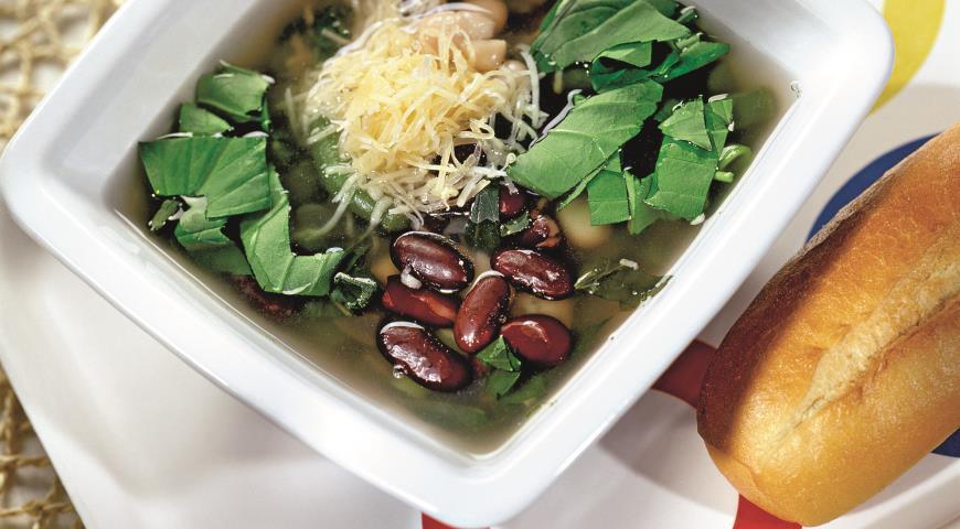 Рецепт Суп из трех видов фасоли