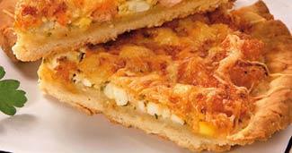 Рецепт Пирог с креветками