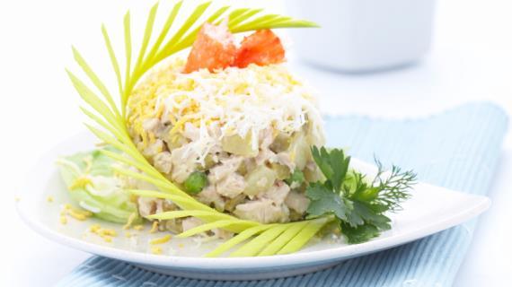 рецепты салатов похожие на оливье