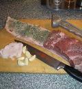 Завиванец с мультиовощным пюре и кислой тюрингской - мясницкой - капустой, пошаговый рецепт с фото