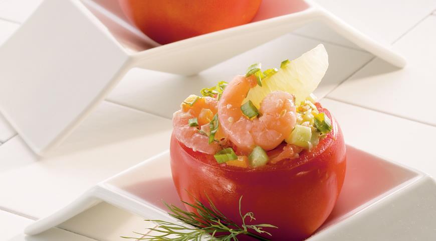 Креветочный салат с заправкой - Кейджун, пошаговый рецепт с фото