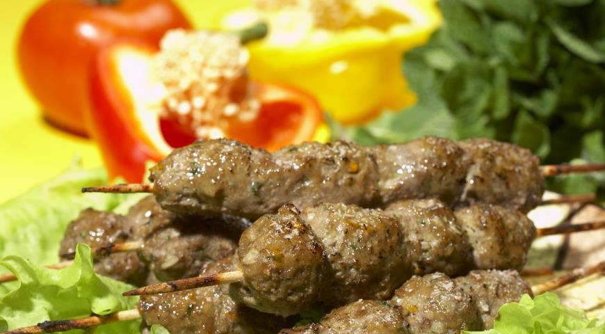 Рецепт Зимний люля-кебаб из свинины
