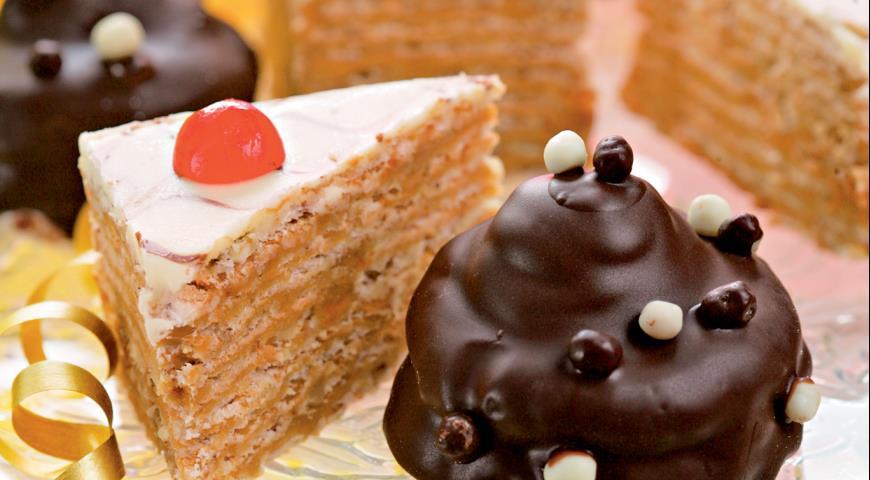 Рецепт Шоколадное пирожное с черносливом