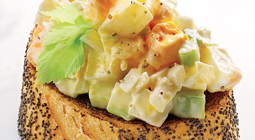 Рецепт Классический яичный салат