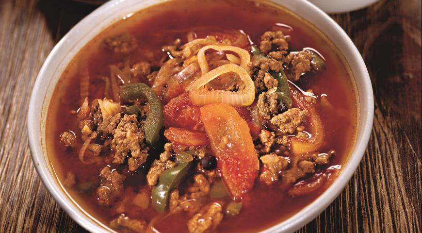 Рецепт Мексиканский суп-рагу