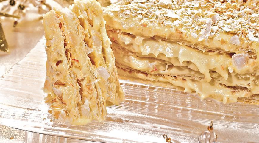 Рецепт Восточный торт Наполеон