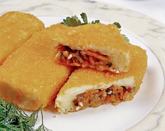 Рецепт Зразы картофельные