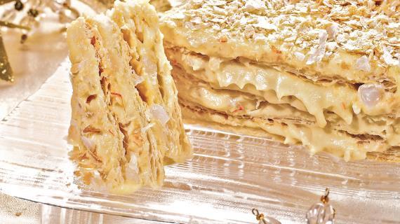 Восточный торт Наполеон