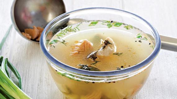 рыбный суп из судака рецепт с пшеном