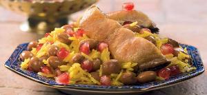 Бакинский плов с сухофруктами, пошаговый рецепт с фото