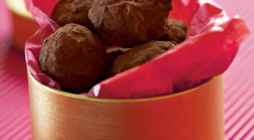 Рецепт Шоколадные трюфели