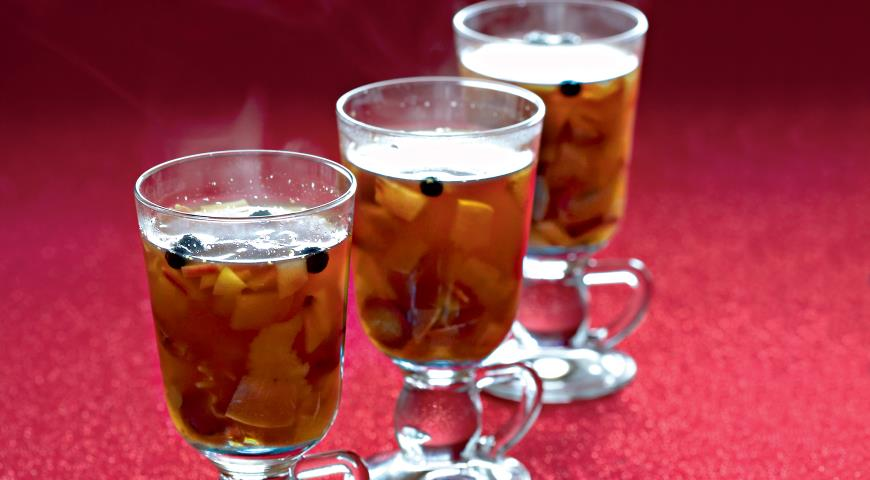 Рецепт Пряный пунш с нектаринами