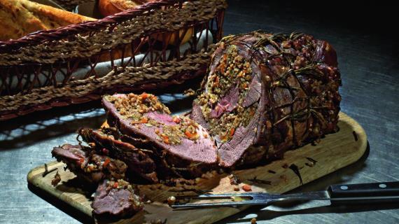 Горячие блюда из мяса к новогоднему столу