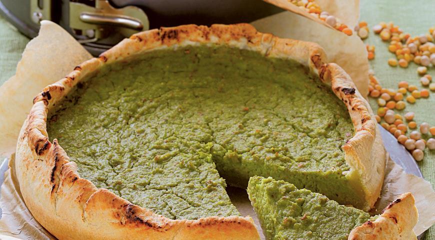 Рецепт Тарт с зеленым горошком