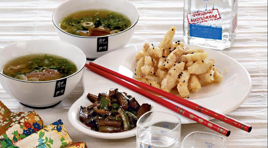 Рецепт Пекинский кисло-сладкий суп с уткой