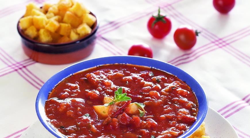 Суп томатный рецепт в домашних условиях 76