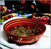 Рецепт Суп фасолевый постный