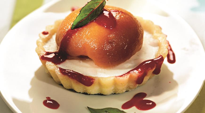 Рецепт Тарталетки с персиками