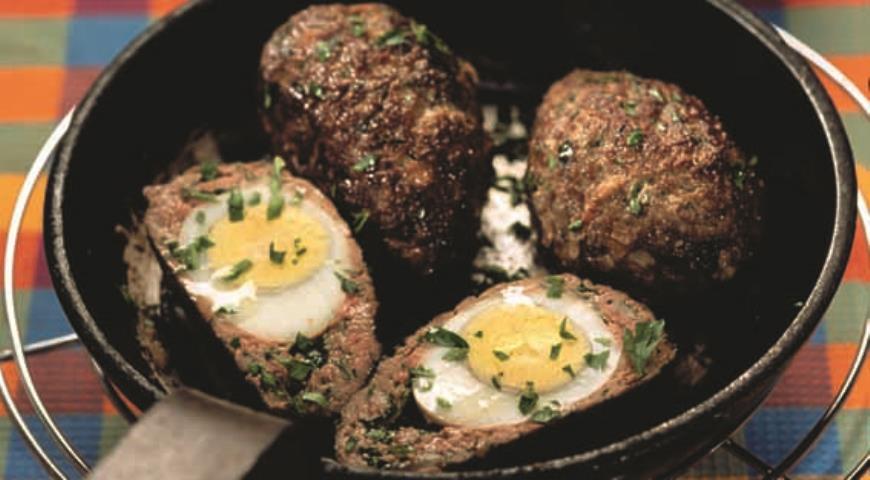 Рецепт Яйца по-шотландски