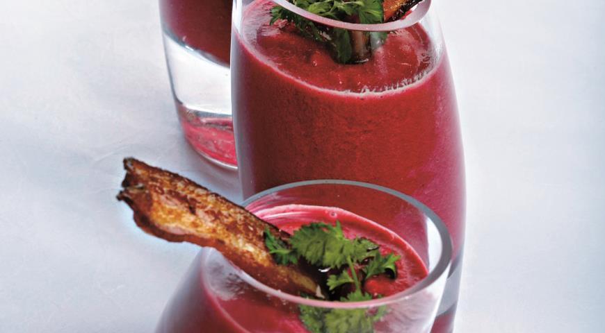 Рецепт Суп-пюре из свеклы с яблоками