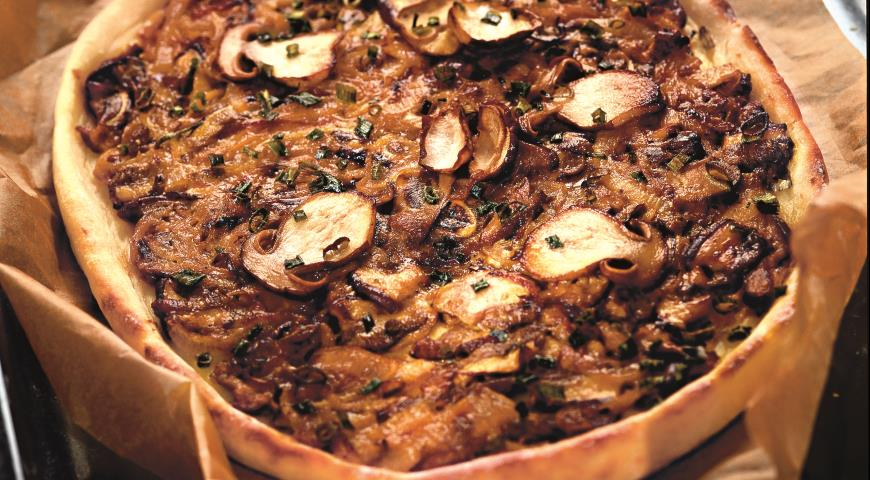 Рецепт Картофельный пирог с грибами