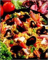 Рецепт Паэлья де мариско (Paella de Marisco)
