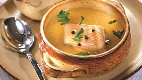 Супы с рыбой и морепродуктами