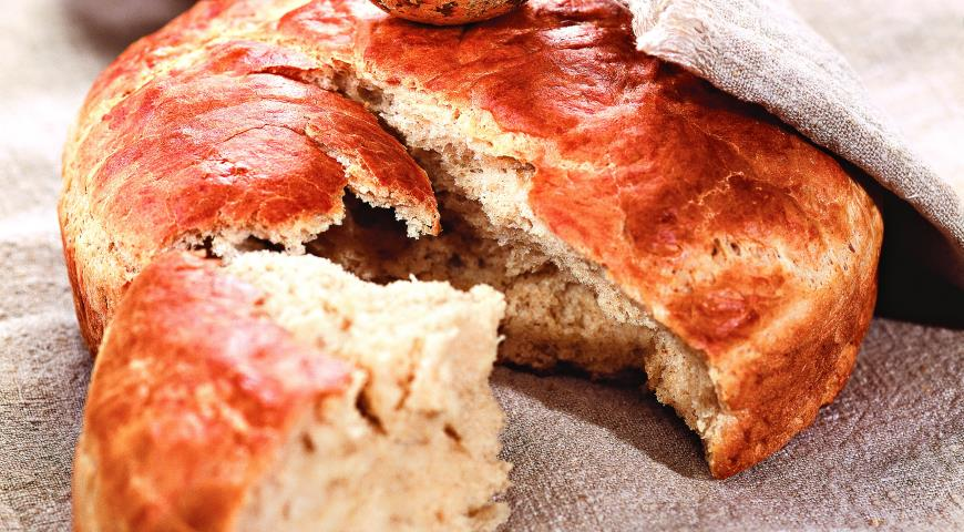 Рецепт Пане паскуале, итальянский пасхальный хлеб